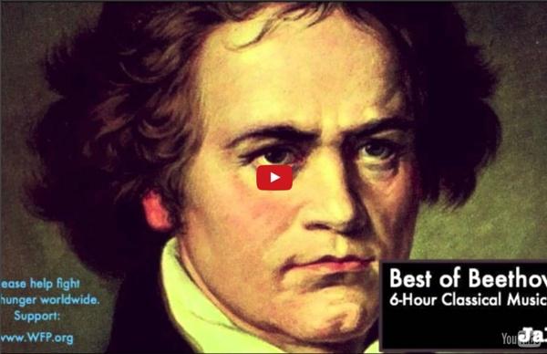6 H de musique classique de Beethoven - piano