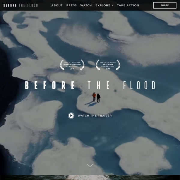 Before the Flood - The science is clear, the future is not