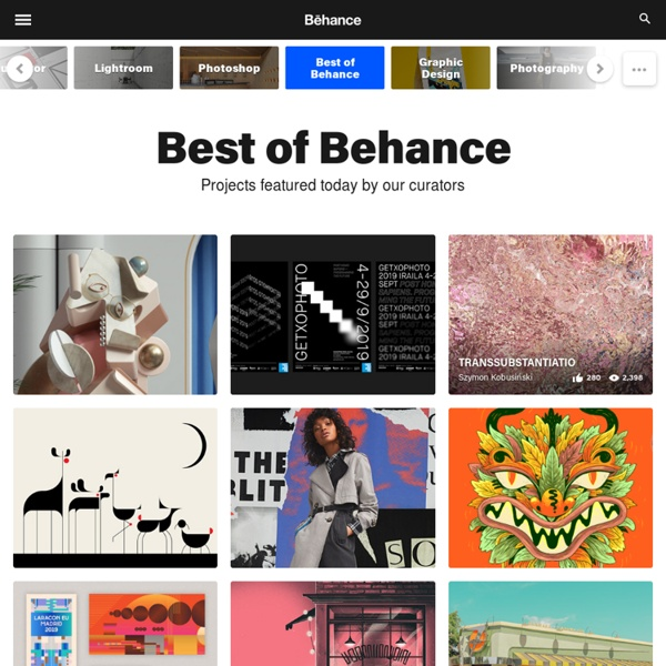 Online Portfolios on the Behance Network