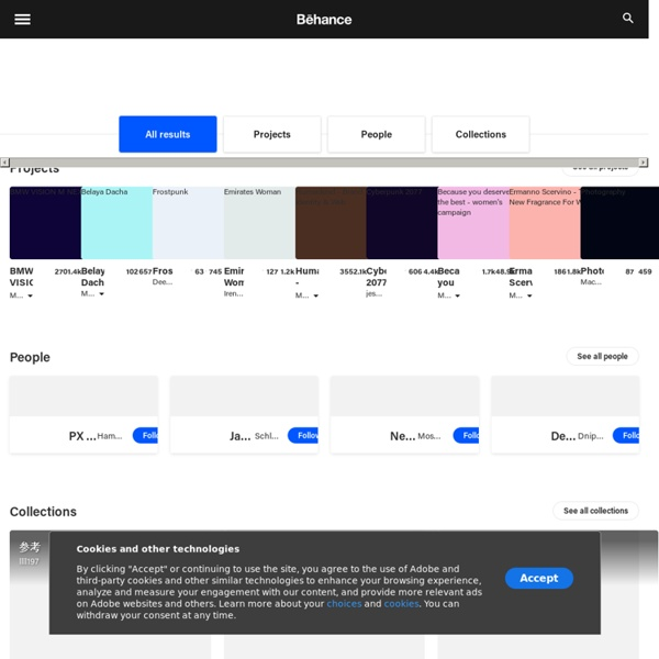Online Portfolios on Behance