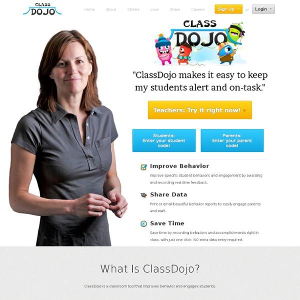 Behavior Management Software - ClassDojo