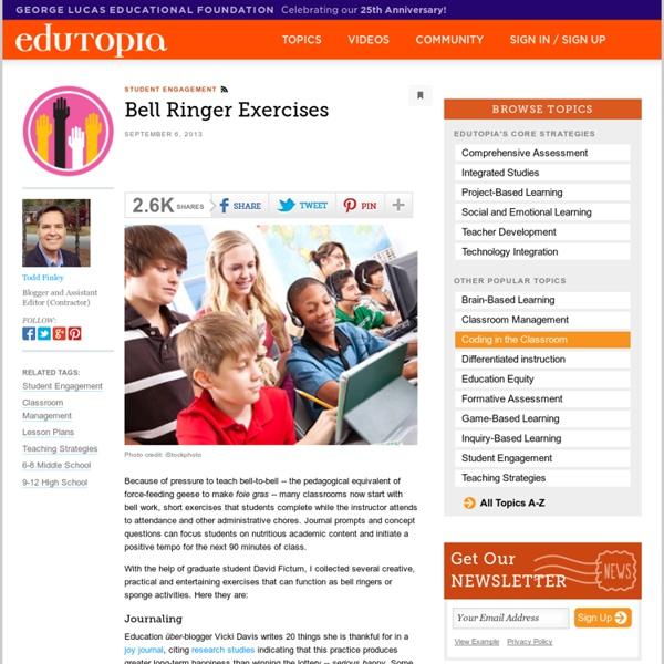 Bell Ringer Exercises