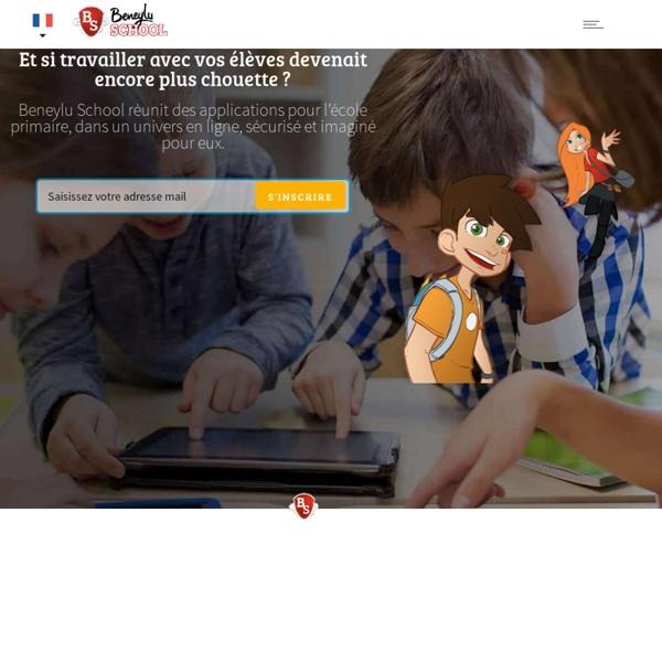 Beneylu School - L'espace numérique de travail (ENT) des écoles primaires