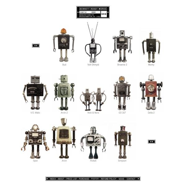 Bennett Robot Works: Robot Index #1