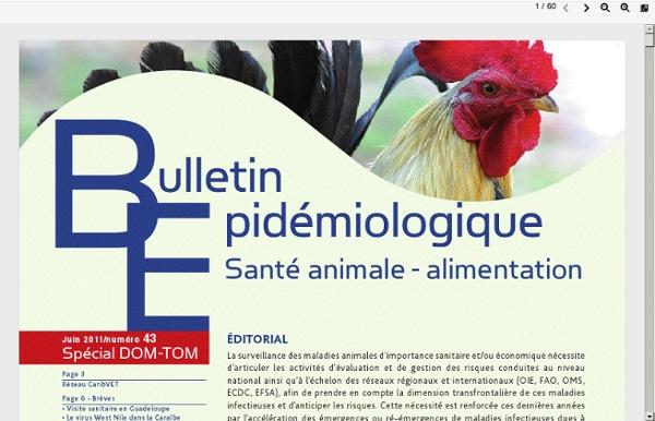 ANSES - JUIN 2011 - Bulletin Epidémiologique N°43 - Juin 2011 Surveillance de la fièvre de la vallée du Rift à Mayotte