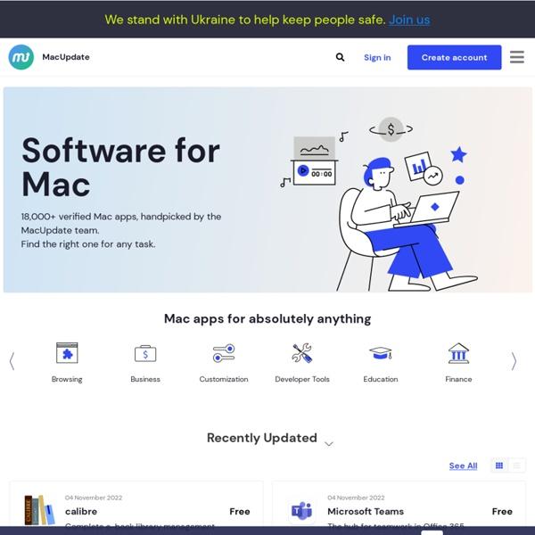 MacUpdate: Download Apple Mac Software & iPhone Software