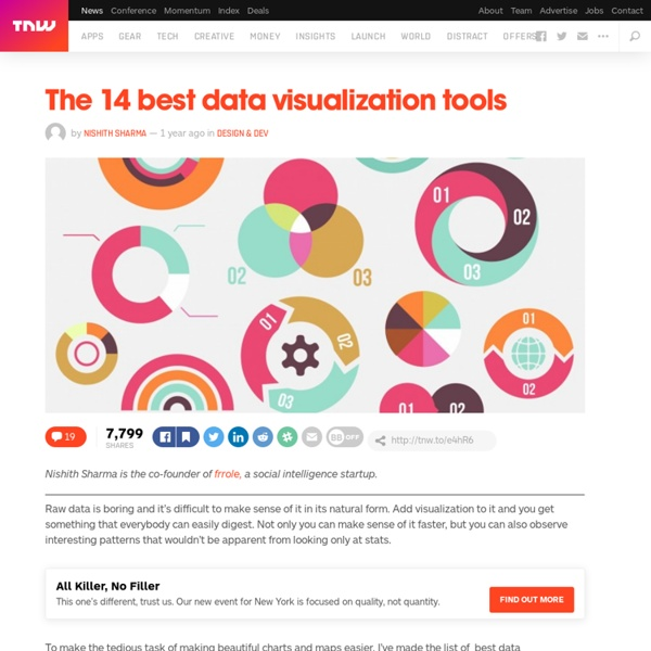 The 14 Best Data Visualization Tools | Pearltrees