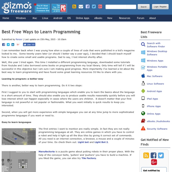 Best Free Ways to Learn Programming