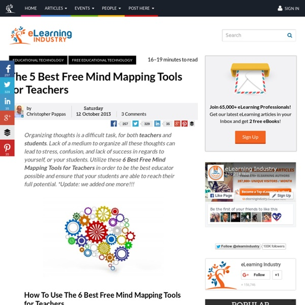 The 5 Best Free Mind-Mapping Tools for Teachers