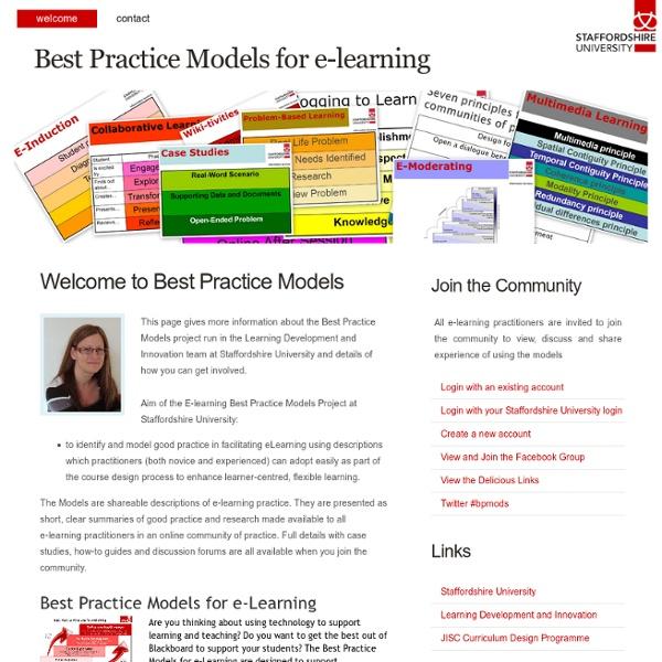 Best Practice Models