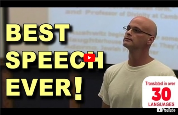 Best Speech You Will Ever Hear - Gary Yourofsky