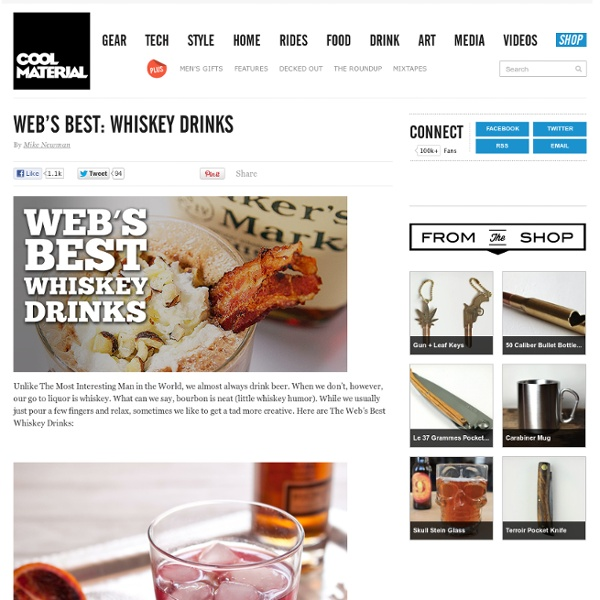 Web's Best: Whiskey Drinks | Pearltrees