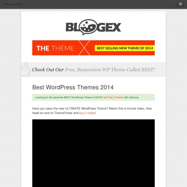 Best WordPress Themes of 2011 (UPDATED)