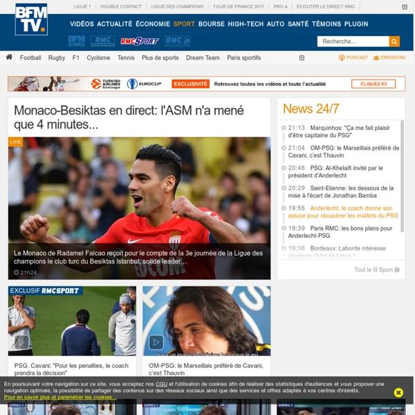 BFMTV Sport: L'actualité du sport en direct et en continu