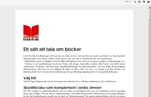 Sites/varldslitteratur.se/files/bifogat/BFransson_handledning.pdf