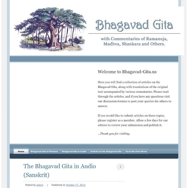 Bhagavad Gita - Bhagavad Gita Online - Bhagavad Gita