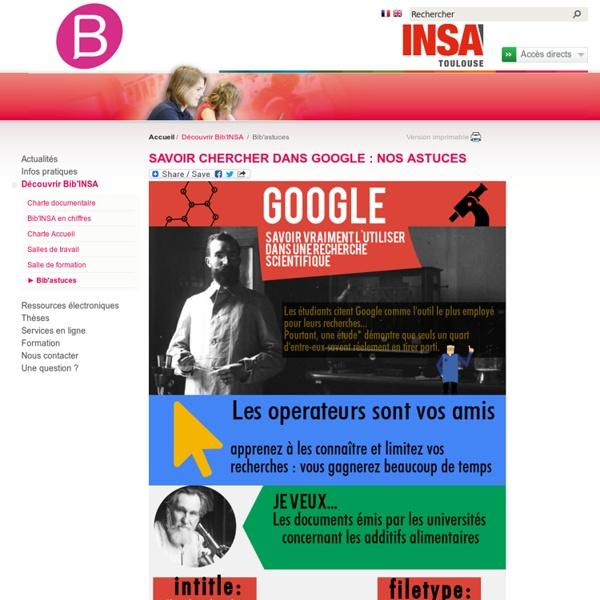 Bib'astuces - Insa - Toulouse
