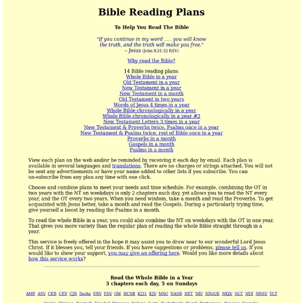 Helping You Read The Bible