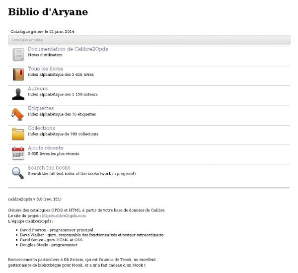 Biblio d'Aryane