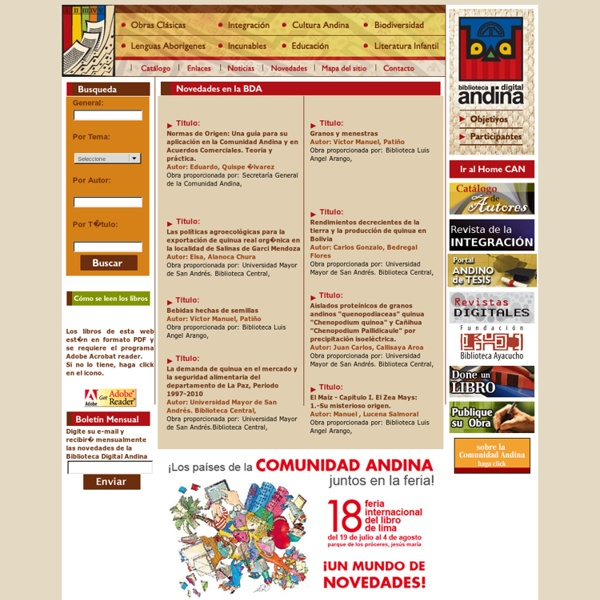 Biblioteca Digital Andina