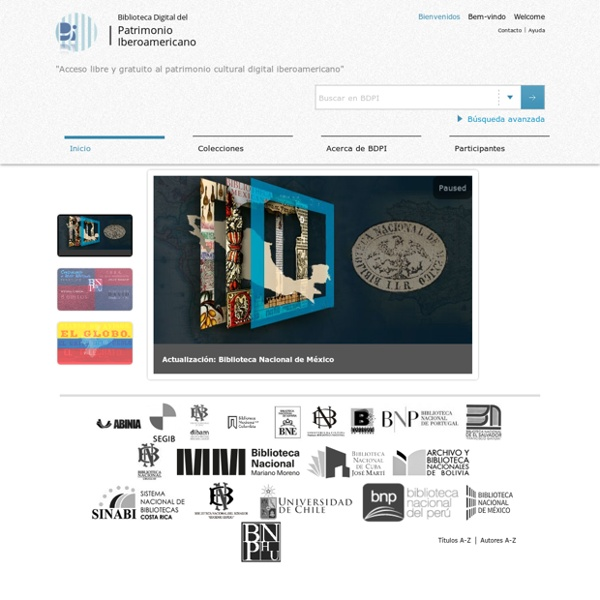 Biblioteca Digital del Patrimonio Iberoamericano