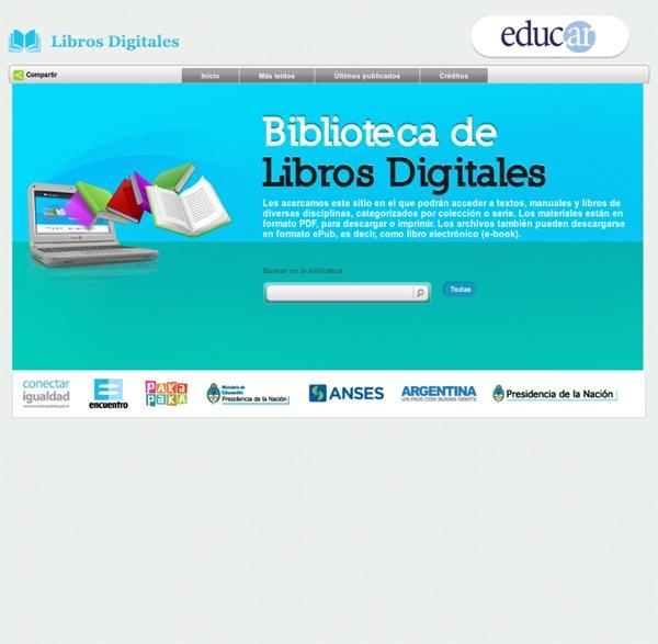 Educ.ar - Biblioteca de Libros Digitales