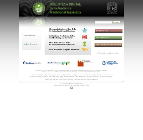 Biblioteca digital de la medicina tradicional mexicana