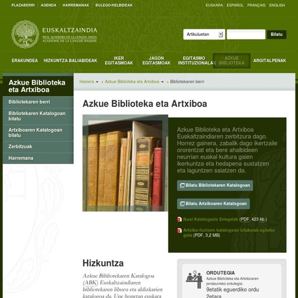 Azkue Biblioteka