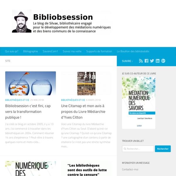 Bibliobsession : le blog d'un bibliothécaire bibliobsédé des bibliothèques