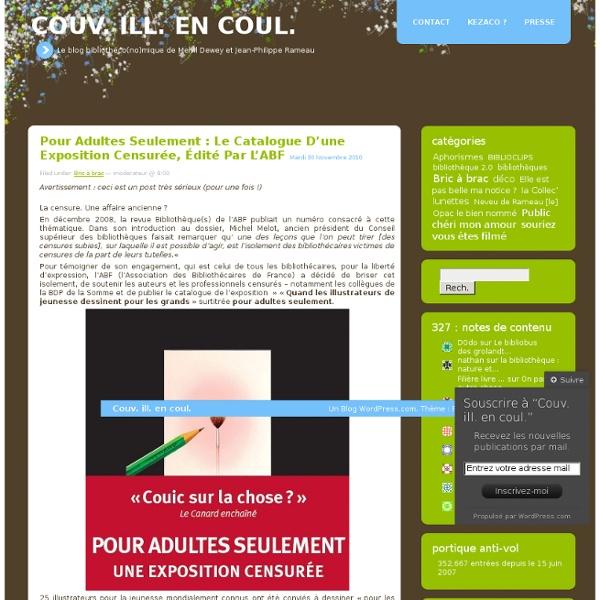 Le blog bibliothéco(no)mique de Melvil Dewey et Jean-Philippe Rameau
