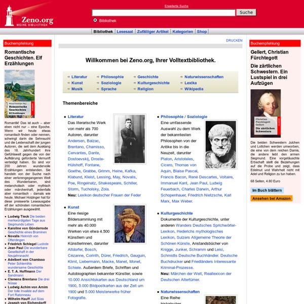 Bibliothek - Zeno.org