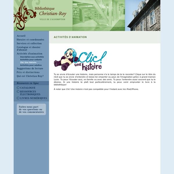 Bibliothèque Christian-Roy