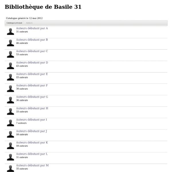 Bibliothèque de Basile 31