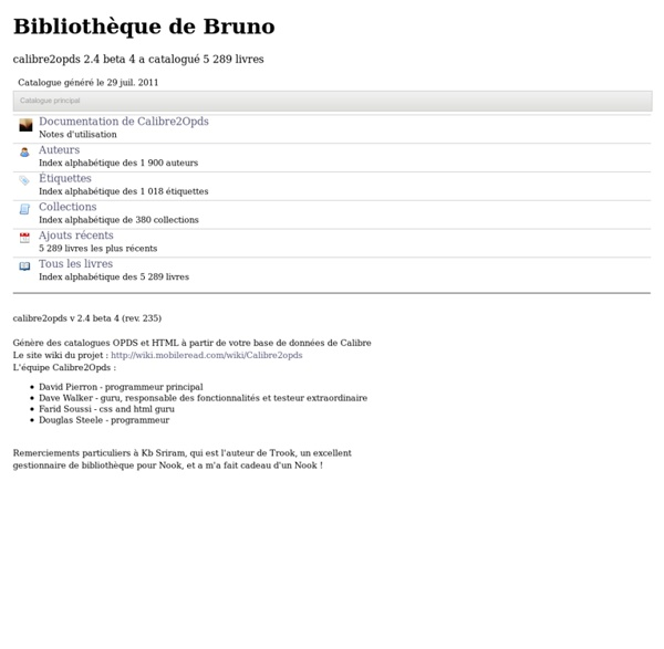 Bibliothèque de Bruno