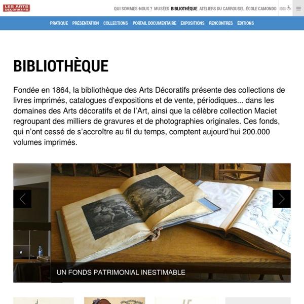 Bibliothèque des Arts Décoratifs, Paris