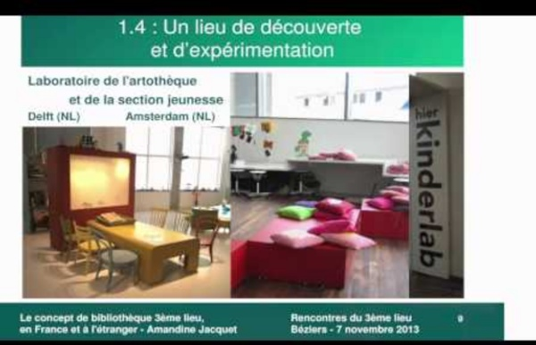 Bibliothèque 3ème lieu en France et à l'étranger - Amandine Jacquet (ABF)