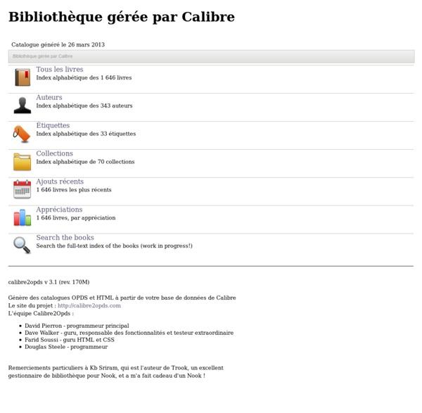 Bibliothèque de C.alabouvette