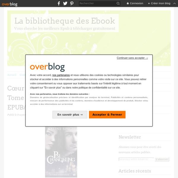 La bibliotheque des Ebook - Vous cherche les meilleurs Epub à télécharger gratuitement