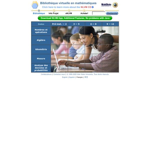 Bibliothèque virtuelle en mathématiques