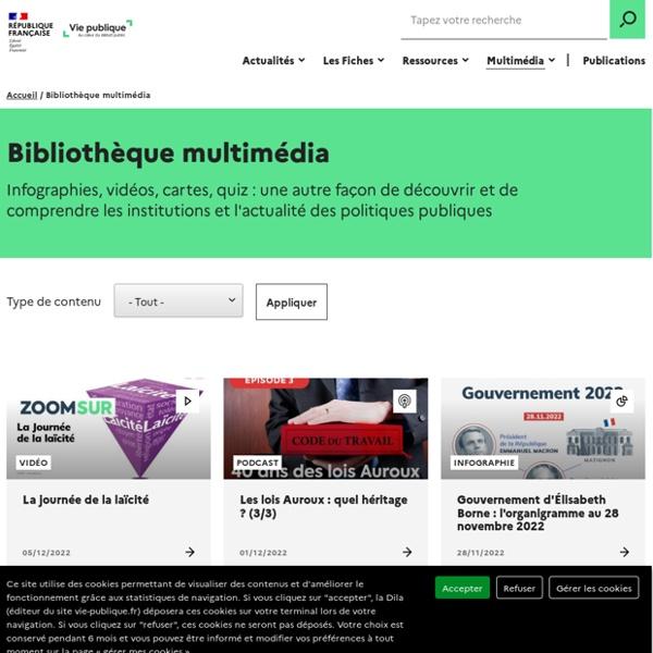 Bibliothèque média - Page 1/3