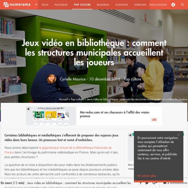 Jeux vidéo en bibliothèque : comment les structures municipales accueillent les joueurs - Pop culture