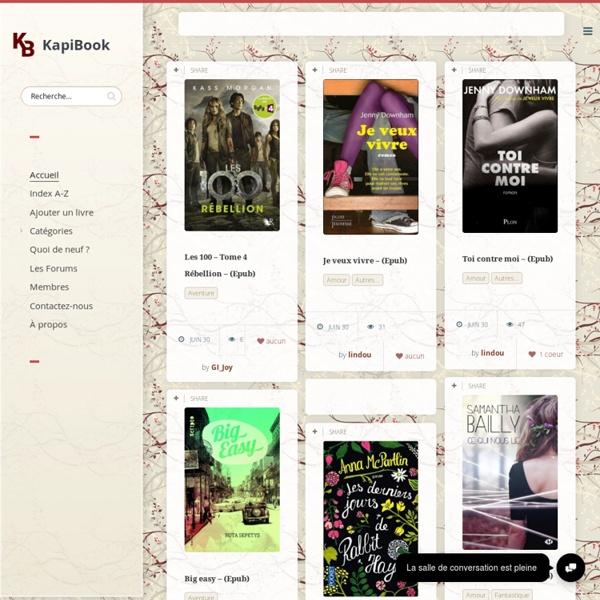 La bibliothèque virtuelle d'Ebooks !