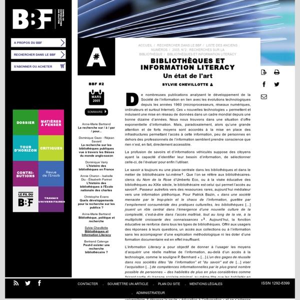 Bib. & IL - BBF