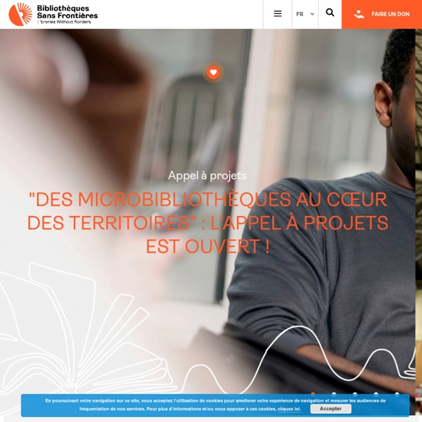 Accueil - Bibliothèques Sans Frontières