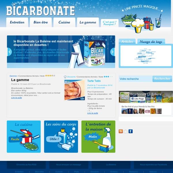 Le Bicarbonate de Soude - Indispensable pour nettoyer, cuisiner, prendre soin de soi