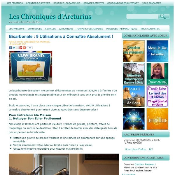 Bicarbonate : 9 Utilisations à Connaître Absolument !