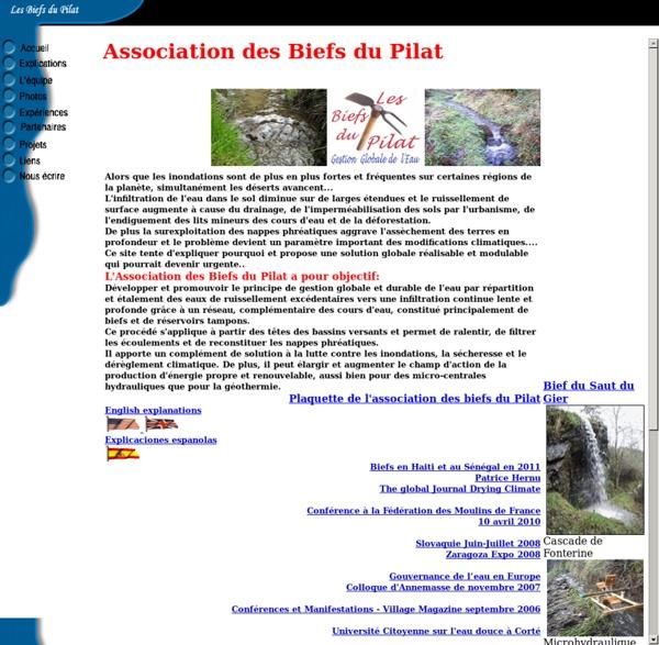 Les Biefs du Pilat - Gestion globale de l'eau