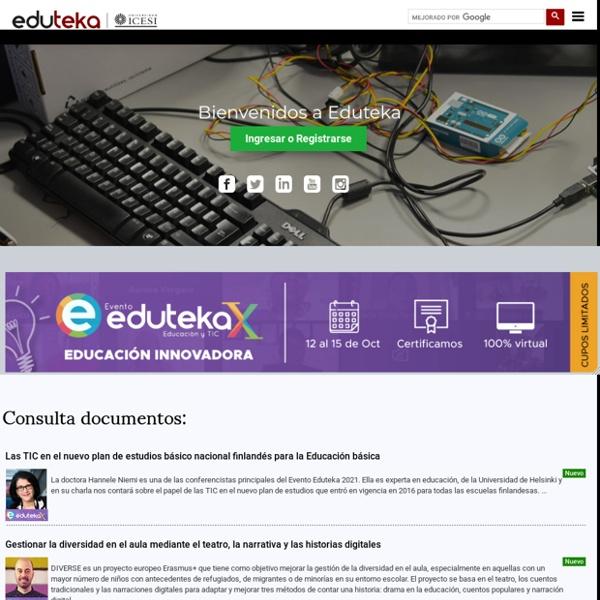 Bienvenidos a Eduteka