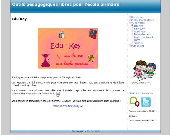 RallyeLect, Outils pédagogiques libres pour l'école primaire
