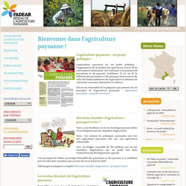Agriculture paysanne - Le site de l'agriculture paysanne